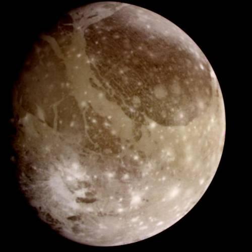 Ганимед. Фото NASA