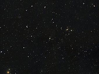Астрономы обнаружили обрезанную галактику