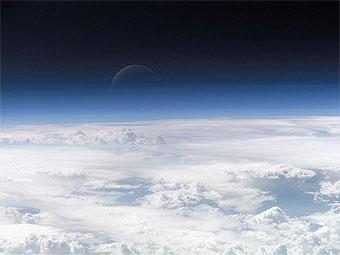 Согласно новым данным, граница космоса проходит на высоте 118 километров. Фото NASA