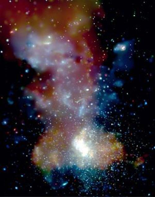 Исчезающая материя указывает на присутствие чёрной дыры в Млечном Пути