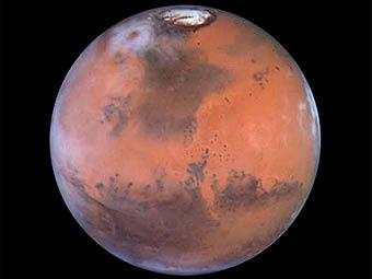 Марс. Изображение с сайта astrobiology.nasa.gov/nai/seminars/detail/34